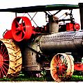 Steam Engine Tractor  by September  Stone