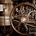 Steam Wheel by Kevin Fortier