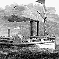 Steamboat, 1850 by Granger