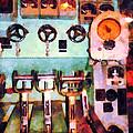 Steampunk - Electrical Control Room by Susan Savad