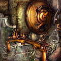 Steampunk - Naval - Shut The Valve  by Mike Savad