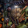 Steampunk - Naval - The Comm Station by Mike Savad