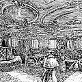 Steamship Salon, C1890 by Granger