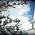 Steeple In The Sky  by Vickie Beasley