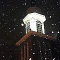 Steeple In The Snow by Vickie Beasley