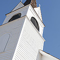 Steeple On St. Joseph's Catholic Mission Church by Fran Riley