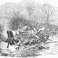 Steeplechase, 1847 by Granger
