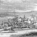 Steeplechase, 1863 by Granger