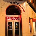 Stella Cocktail Bar At Night by Kym Backland