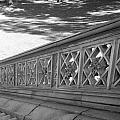 Steps Of Central Park In Black And White by Rob Hans