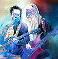 Steve Lukather And Leland Sklar From Toto 02 by Miki De Goodaboom