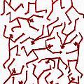 Stickmen Characters Nine Eleven Two K Ten by Carl Deaville