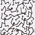 Stickmen Characters Nine Eleven Two Thousand Ten by Carl Deaville