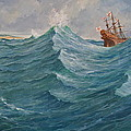 Still Afloat But Different Direction And Purpose Metaphorically Speaking  by Cliff Spohn