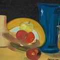 Still Life Of Fruit by Bernadette Krupa