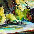 Still Life Of Pears by Mindy Newman