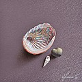 Still Life With Abalone Shell by Elena Kolotusha