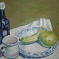 Still Life With Fruit by Charles McChesney