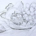 Still Life With Fruit by Jan Bennicoff