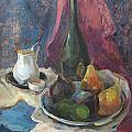Still Life With Fruit by Juliya Zhukova