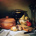 Still Life With Pears by Patrick Anthony Pierson