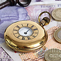 Still Life With Pocket Watch, Key by Photo Researchers