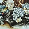Still Life With Skulls by Elizabeth York