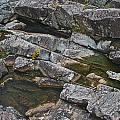 Stillwater Eroded Rock 3 by David Kleinsasser