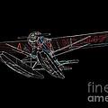 Stinson Sr Reliant Float Plane by John Gaffen