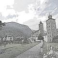 Stockalper Castle by Pravine Chester