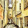 Stockholm Old City by Yury Malkov