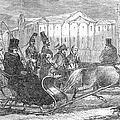 Stockholm: Sleighing, 1850 by Granger