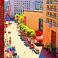 Stockton Street San Francisco . View Towards Union Square by Wingsdomain Art and Photography