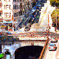 Stockton Street Tunnel San Francisco . 7d7499 by Wingsdomain Art and Photography
