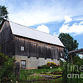 Stone Cottage Barn by Grace Grogan