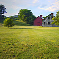Stone Farmhouse In Vermont by Nancy Griswold