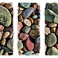 Stone Triptych 3 by Kelley King