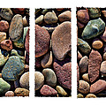 Stone Triptych by Kelley King