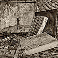 Stonehaven Rehab Sepia by Steve Harrington