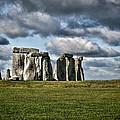Stonehenge Landscape by Heather Applegate