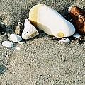 Stones On The Beach by Marcus Dagan