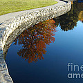 Stonewall And Autumn Reflections by Mike Nellums