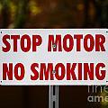 Stop Motor No Smiking by Henrik Lehnerer