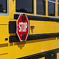 Stop Sign On A School Bus by Skip Nall