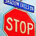 Stop Sign Sketchbook Project Down My Street by Irina Sztukowski