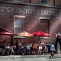 Storefront - Bastile Day In Frenchtown by Mike Savad