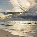 Storm Approaches Miami Beach by Matt Tilghman
