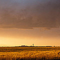 Storm Clouds Over Dia by Monte Stevens