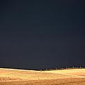 Storm Clouds Over Missouri Coteau In Saskatchewan by Mark Duffy