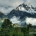 Storm  In The Tetons by Sandra Bronstein